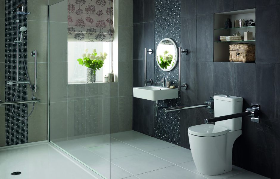 Modern Bathroom for disabled people - PHR Plumbing