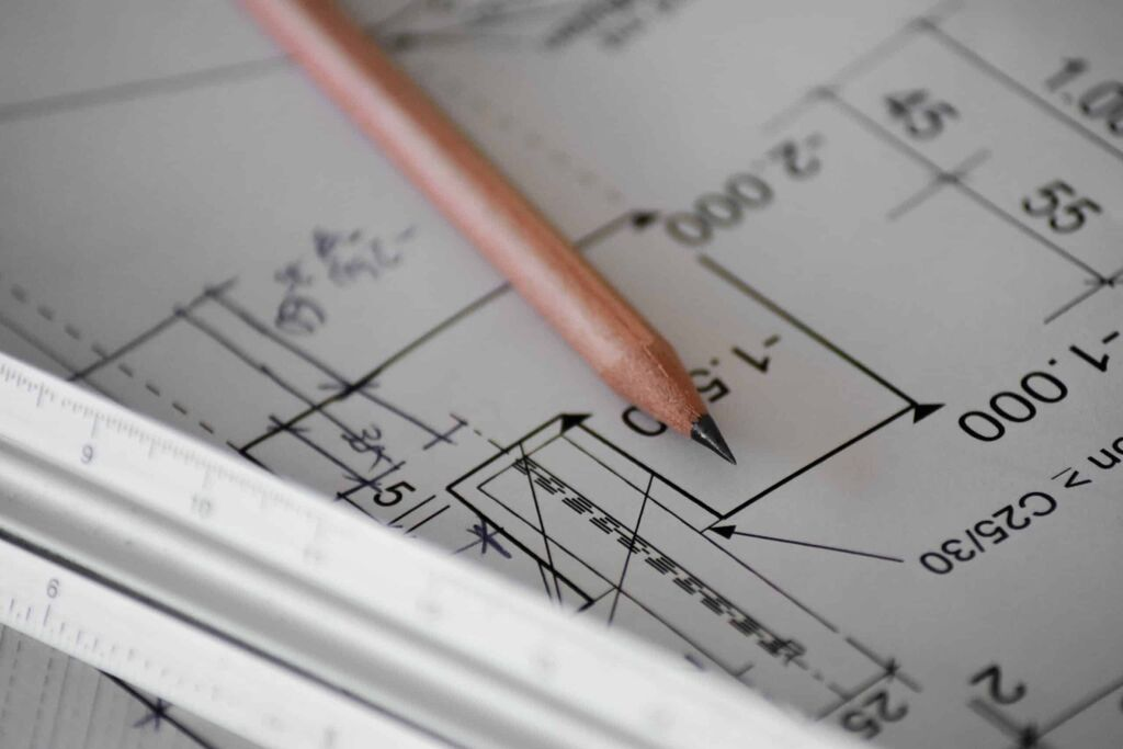 Planing and using a blueprint - PHR Plumbing