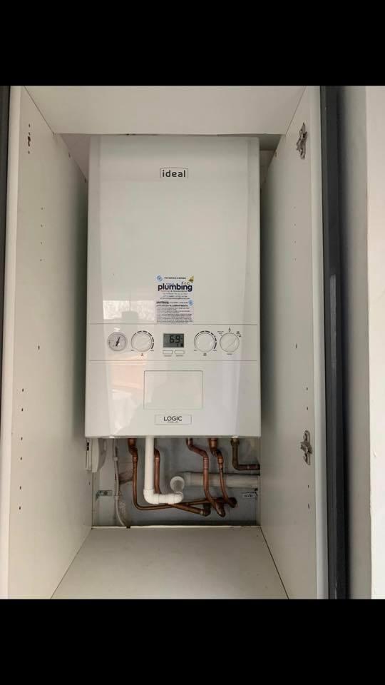 White Ideal Boiler
